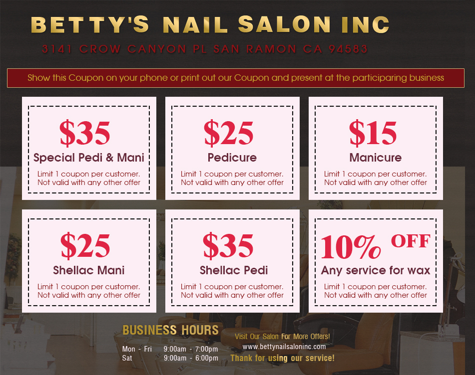Betty's Nail Salon 418